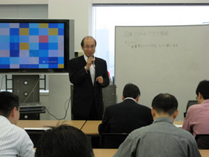 日本リゾートクラブ協会 常務理事今泉陽一氏
